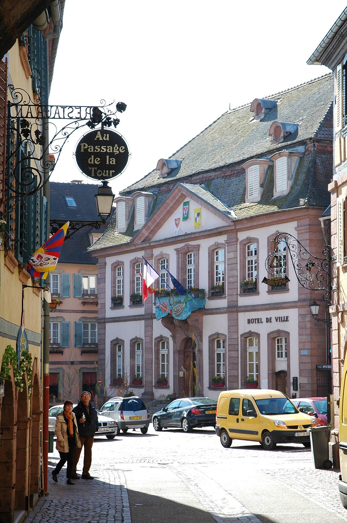 H tel de ville de ribeauvill wikip dia for Piscine de ribeauville