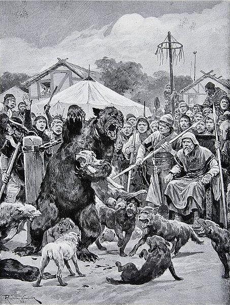 Притравка на медведя, или пара слов об охоте