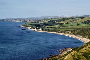 Ringstead and Ringstead bay from White Nothe o...