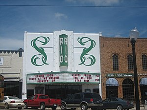 Center, Texas - The Rio Theater in Center