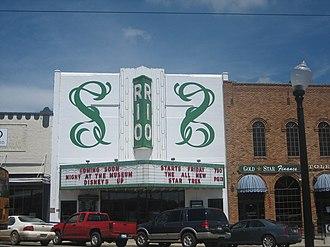 Center, Texas - The Rio Theater in Center