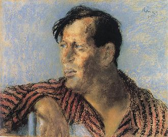 Frigyes Karinthy - Portrait by József Rippl-Rónai