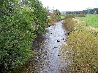 River Isla, Perthshire - Image: River isla brewlands