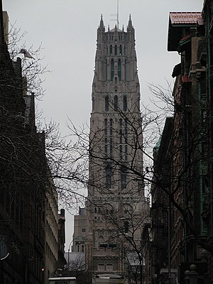 Rockefeller family - Riverside Church