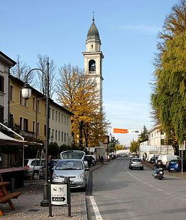 Rivignano Teor Comune in Friuli-Venezia Giulia, Italy