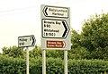 Road signs, Ballylumford - geograph.org.uk - 1418568.jpg
