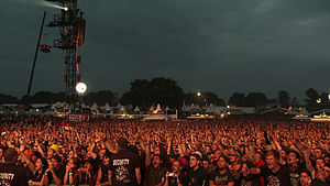 English: Road to Wacken