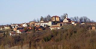 Roatto Comune in Piedmont, Italy