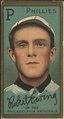 Robert Ewing, Philadelphia Phillies, baseball card portrait LCCN2008677363.tif