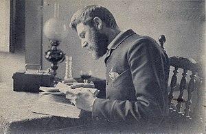 Robert Frederick Blum - Portrait of Blum in 1875.