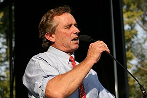 Robert Kennedy Jr. in Urbana, IL Français : Ro...