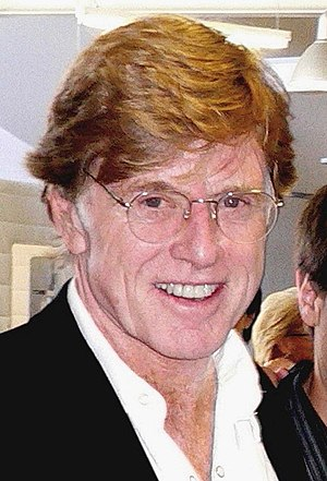 American actor and director Robert Redford at ...