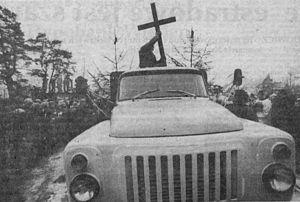 The Barricades - Roberts Mūrnieks' funeral