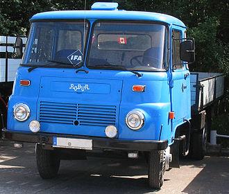 Robur (truck) - Robur Typ LO 2002
