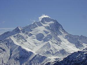 Roche de la Muzelle - North side of the mountain