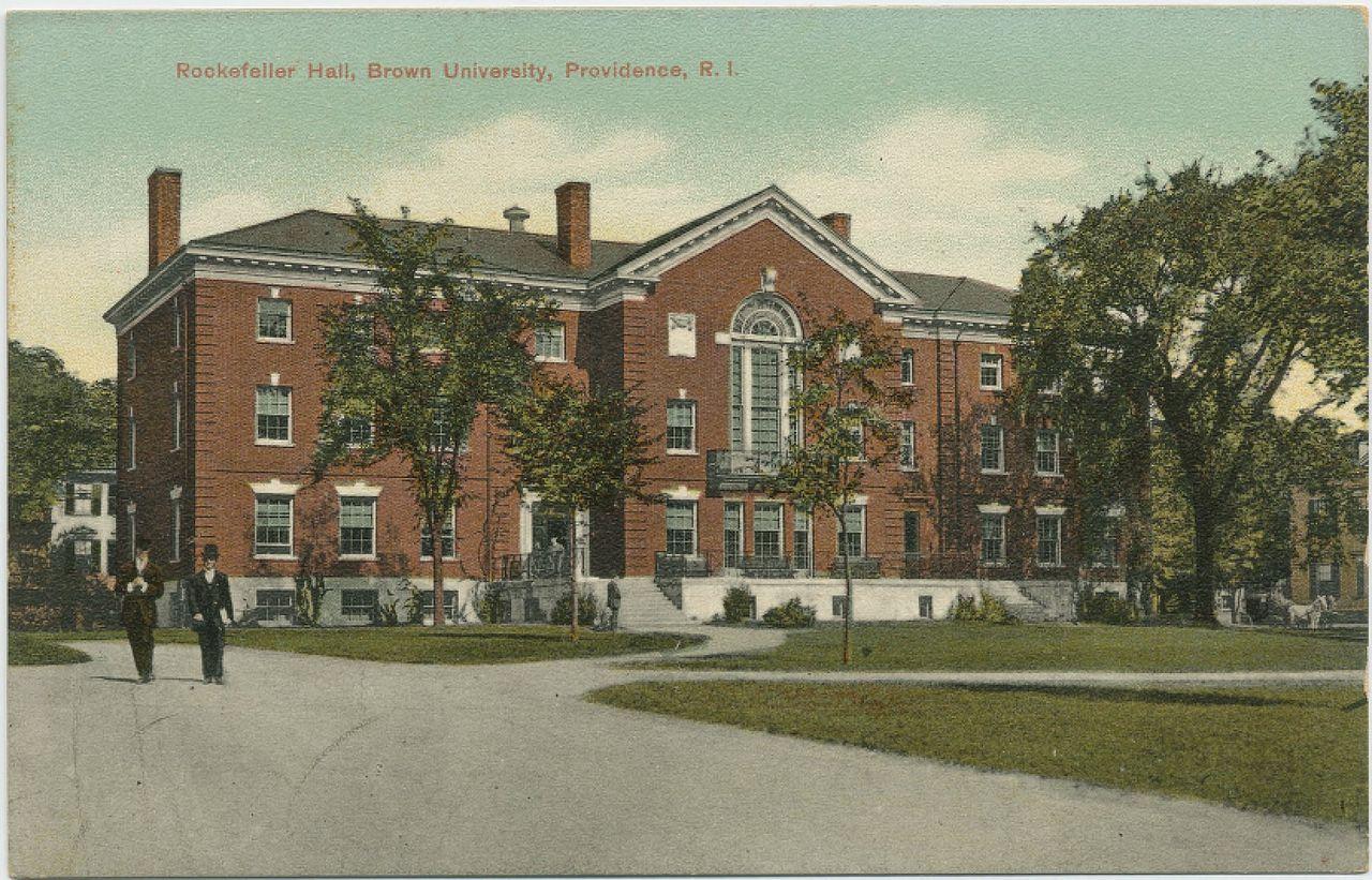 history of brown university wikipedia john hay library