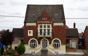Roclincourt - The town hall of Roclincourt