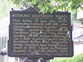 Roebling Suspension Bridge (Hst Marker) Cincinnati P4280230.JPG