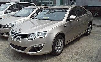 Roewe 550 - Image: Roewe 550 facelift China 2015 04 10