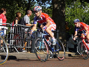 Roger Hammond (cyclist) - Roger Hammond in the 2006 Tour of Britain in London