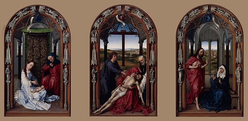 File:Rogier van der Weyden - The Altar of Our Lady (Miraflores Altar) - Google Art Project.jpg
