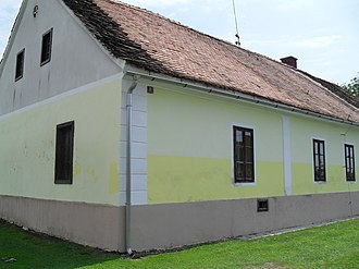 Imre Augustich - Augustich's birthplace in Murski Petrovci