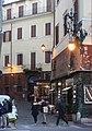 Rom, das Ristorante Il Falchetto in der Straße Via dei Montecatini.JPG