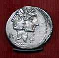 Roma, denario di caio fonteina, 114 ac ca., con giano bifronte.jpg