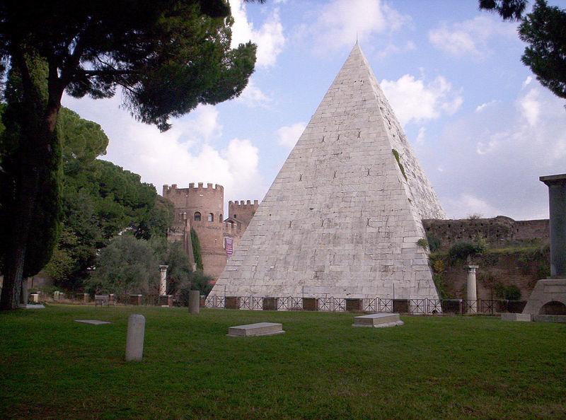 Piràmide Cèstia, Roma