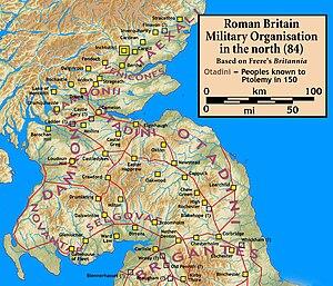 Manaw Gododdin - Image: Roman.Scotland.north .84