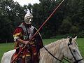 Roman Cavalry Reenactment - Roman Festival at Augusta Raurica - August 2013-034.JPG