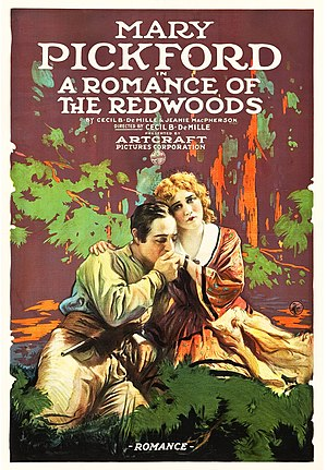 A Romance of the Redwoods - Film poster