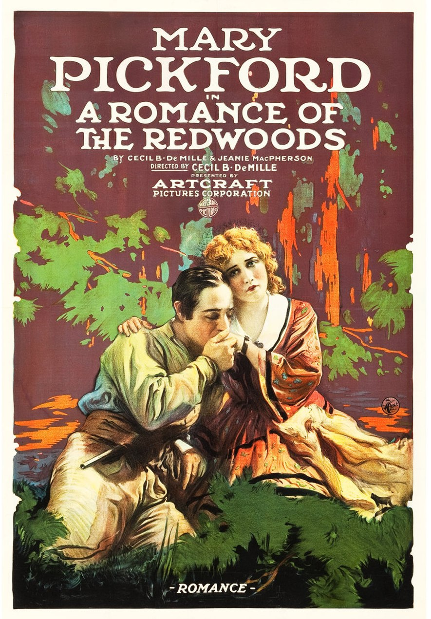 Romance of the Redwoods poster