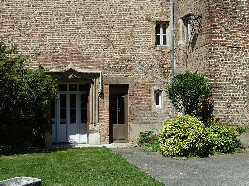La Tour carrée, entrée principale du château