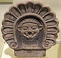 Roof ornament with Medusa's head. Etruscan, from Italy, 6th century BCE. National Museum of Scotland, Edinburgh.jpg