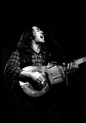 Rory Gallagher Performing On A National