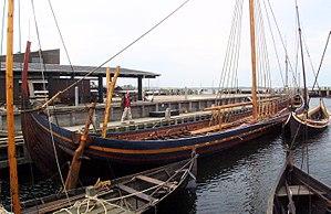 Ivar of Limerick - Reconstruction of a Viking longship originally built in Ireland, 11th century.