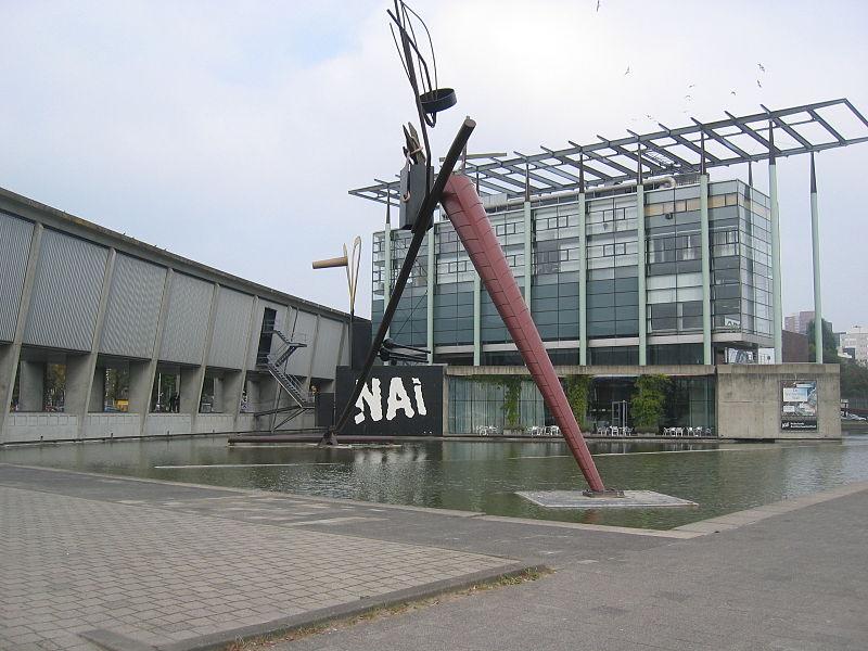 Rotterdam - gebouw Nederlands Architectuurinstituut - Netherlands Architecture Institute