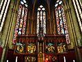 Rouffach Notre-Dame-de-l'Assomption Innen Chorfenster & Hochaltar 2.jpg