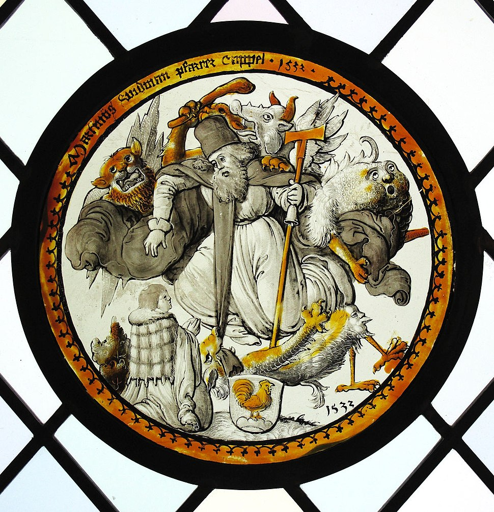Roundel with the Temptation of Saint Anthony MET