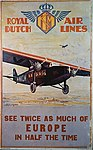 Royal Dutch Airlines Europe Poster (19290387688).jpg