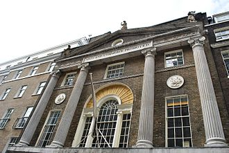 Royal Society of Arts - Royal Society of Arts, front of the building