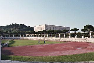 Foro Italico sport venues in Rome, Italy