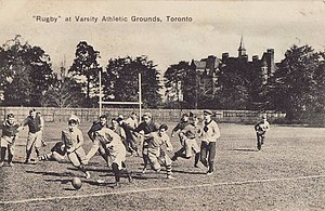 Varsity Stadium - Rugby at the Varsity athletic grounds, 1909