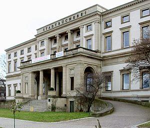 Wilhelm Palais - Main facade of Wilhelm Palace