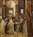 S. Francisco entregando os Estatutos da Ordem a Santa Clara Jorge Afonso MNAA.jpg