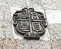 S. Salvador de Parga, Pazo de Casanova, escudo.JPG