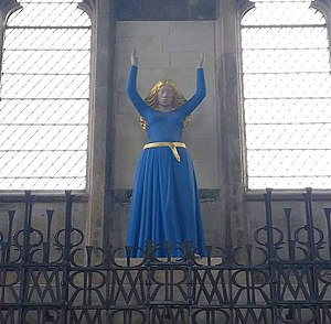 Anglican Marian theology - Virgin Mary at the Annunciation, Lady Chapel, Ely Cathedral