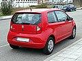 SEAT Mii 3 Door Style Rojo Tornado 2014 3-4 Back.jpg