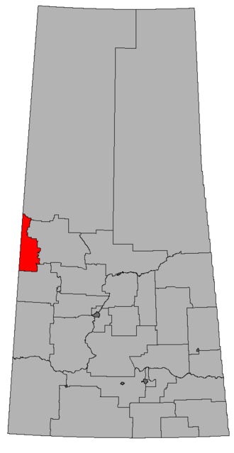 Lloydminster (electoral district) - Image: SK 2016 Lloydminster
